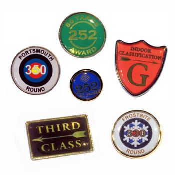 Archery Club Badges